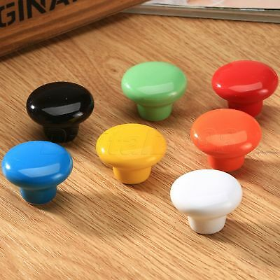Ceramic Pull Handle Knobs for Kitchen Door Drawer Cabinet Cupboard Furniture