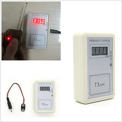 Autos Off-Road Key 250Mhz-450Mhz RF Frequency Meter Tester Scanner Counter Tool