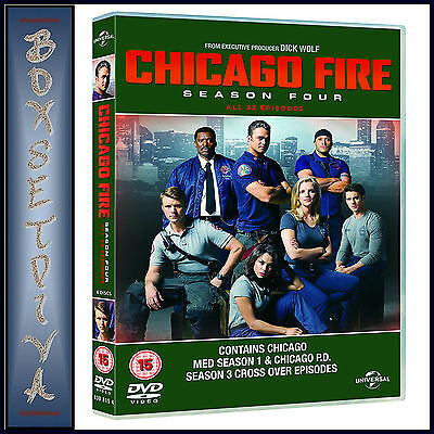 Chicago Fire - Complete Season 4  **brand New Dvd*