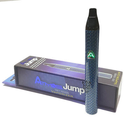 Atmos Jump  Vaporizer Kit - Carbon Fibre Blue - Advanced Heating Chamber