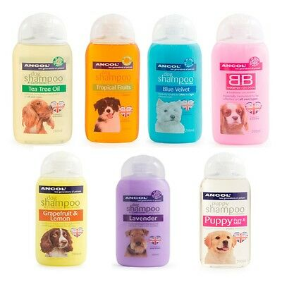 Ancol Dog Puppy Shampoo Bath Clean Various Scents 200ml