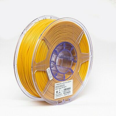 eSun PLA GOLD 1,75mm Filament Makerbot Ultimaker 2 RepRap E3D Flashforge CTC NEU