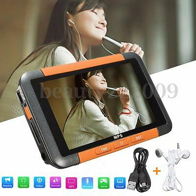 8GB 3'' LCD Touch Screen MP3 MP4 MP5 Video Music Media Player FM Radio Recorder