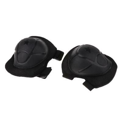 Kids Protective Gear Safety Inline Roller Skate Knee Elbow Wrist Support Pad