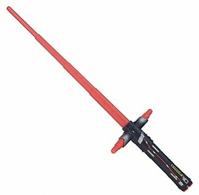 Star Wars The Force Awakens Kylo Ren Extendable Lightsabre FREE Shipping Uk Sell