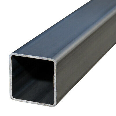 Plain Box Section Mild Steel SHS Square Hollow Section 2.5mm - 2 x 3m Lengths