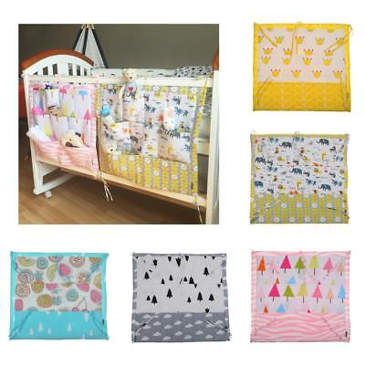 9 Pocktes Nursery Baby Bed Sets Diaper Hanging Diaper Storage Bags Organizer