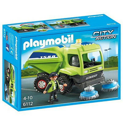 Playmobil 6112 City Action City Cleaning Street Cleaner