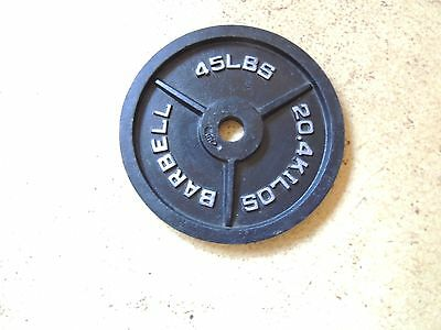 Cap 45 Lb. Olympic Weight Barbell Plate