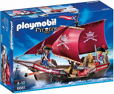 Playmobil 6681 Pirates Soldiers' Patrol Boat (4+)