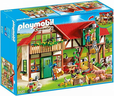 Playmobil 6120 Country Large Farm with over 15 Animals