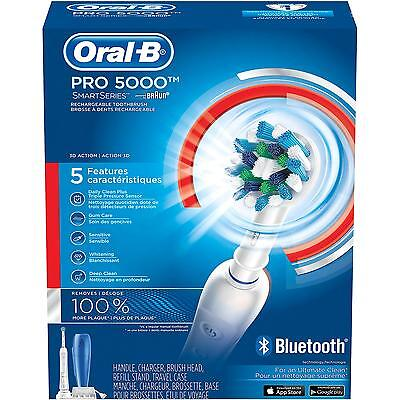 Oral-B Pro 5000 Rechargeable Toothbrush with Bluetooth