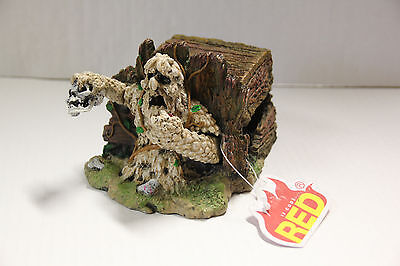 Aquarium bubbler ornament - Zombie Chest