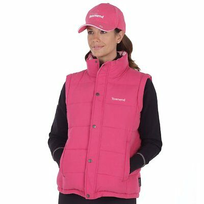 Townend Quest Unisex Padded Gilet - Fuchsia - X Large - Horse Equestrian Gilets