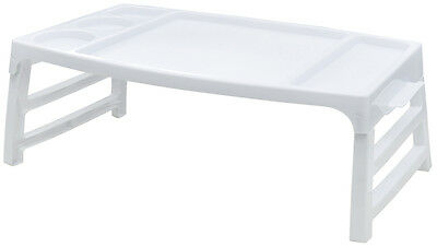 Folding Serving TV Tray Table for Snacks Food Breakfast in Bed at Home