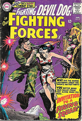 Our Fighting Forces Comic Book #97, DC Comics 1966 VERY GOOD