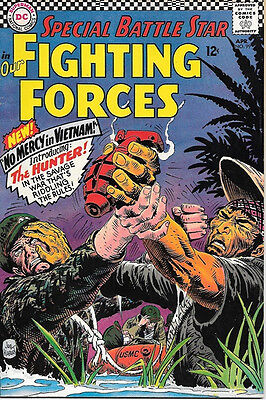 Our Fighting Forces Comic Book #99 First Hunter, DC Comics 1966 VERY GOOD+