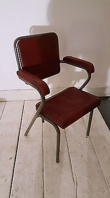 Job Lot of Six Vintage Mid Century 1960s Cinema Theatre Chairs