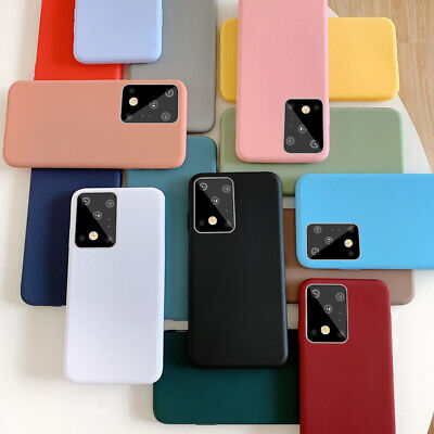 For iPhone 5s 6 7 Plus Back Cover Slim Soft Gel TPU Silicone Glossy Phone Case