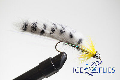 The tongue Streamer fly 3-pack Size 2 ICE FLIES - 10