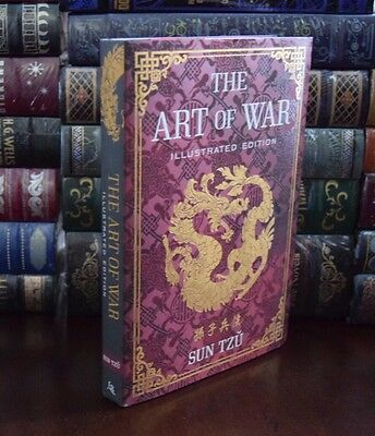 The Art of War by Sun Tzu Illustrated Hardcover Collectible Edition