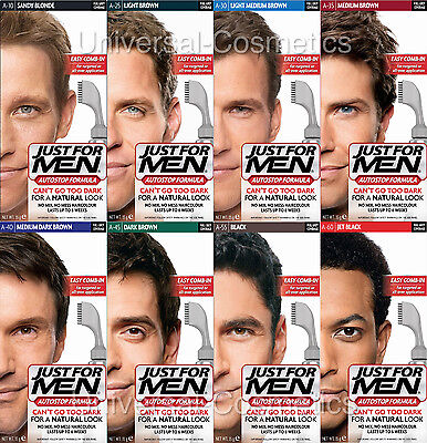 Just For Men Autostop Hair Colourant Foolproof Hair colouring -GENUINE