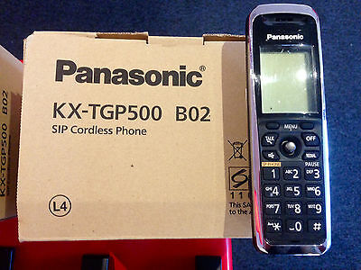 Panasonic KX-TGP500 B02 SIP Cordless VoIP Dect Phone - Locked to BT