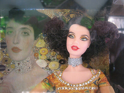 Barbie Collector Pink Label Doll Inspired by Gustav Klimt & 2 Fascicles