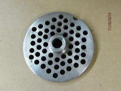 #22 meat grinder plate with Hub For Stainless steel meat grinder Priced to sell!