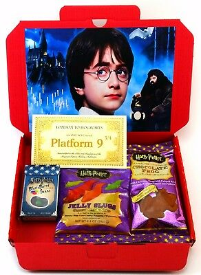 Harry Potter Sweets Gift Box Chocolate Frogs Beans Slugs Child's American Candy