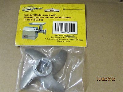 Grinder Blade used with Deluxe Stainless Electric Meat grinder 168618