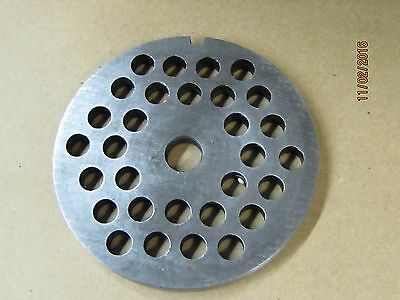 Coarse grind Meat Grinder plate #32  3/8 inch hole