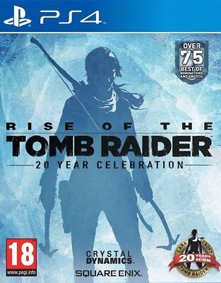 Rise of the Tomb Raider: 20 Year Celebration PS4 Game Brand New in Stock