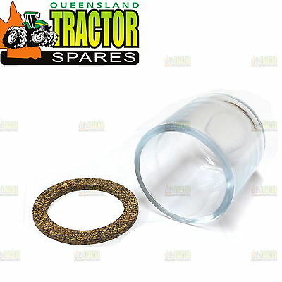 Massey Ferguson  Glass Fuel Bowl and Gasket Set With 53mm Bowl and Gasket