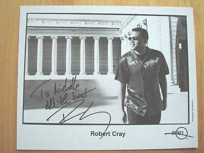 Robert Cray Autographed Photo