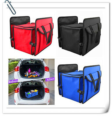New Car Trunk Organizer Cooler Storage for Auto Front & Back Seat Collapsible