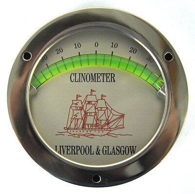 Classic Clinometer - For a Level Vessel