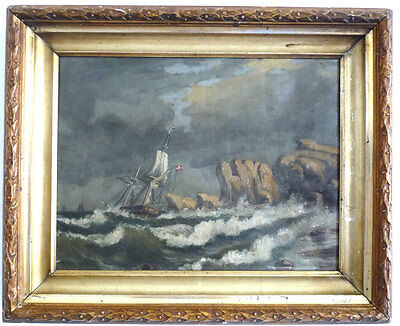 Sailor before steep Cliffs in the Storm, Romantics, 19 Jackson