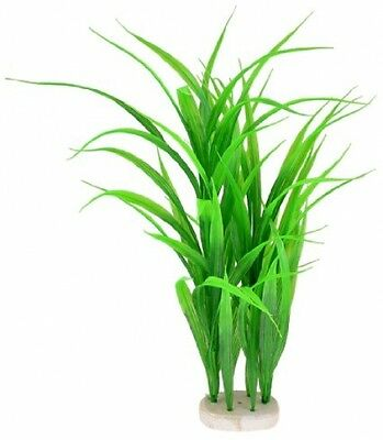 15.3 Emulational Green Plastic Water Grass Plant Decor For Aquarium Fish Tank