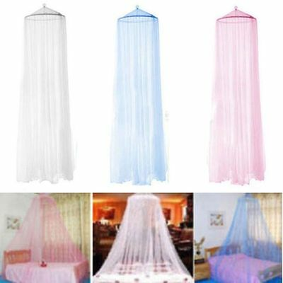 Midges Bed Dome Canopy Netting Home Round Lace Mesh Curtain Mosquito Net QW