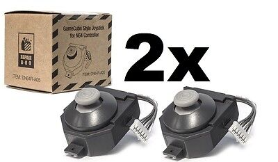 2x Repair Box G-Cube Style N64 Replacement Analog Joystick MODEL:DN64R-A05  [03]