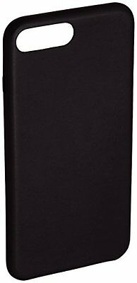 AmazonBasics Coque de protection fine en PU pour iPhone 7 Plus, Noir
