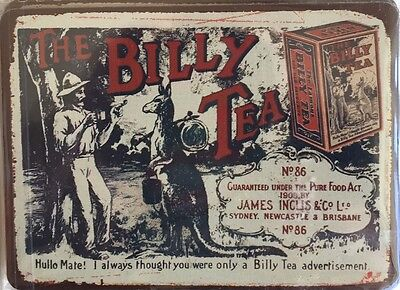 Tin Sign  Metal ``BILLY TEA ``