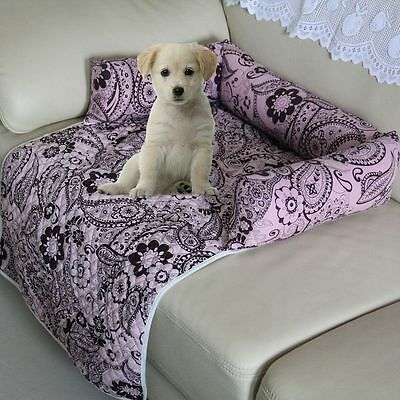 Cotton Slipcover Pet Dog Couch Furniture Protector Bed Sofa Blanket Seat Cover