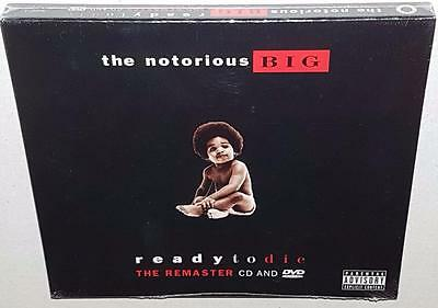 The Notorious Big Ready To Die (Remastered) Brand New Sealed Cd Dvd B.i.g.