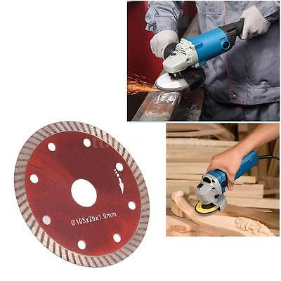 Diamond Disc Saw Blade Disc Cutting For Angle Grinder 105 x 1.0 x 20mm L8P0
