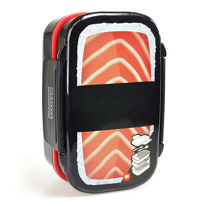 New Japanese Cuisine Sushi Design Sashimi Container Box Lunch Box With Cutlery