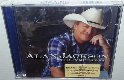 Alan Jackson Thirty Miles West (2012) Brand New Sealed Cd Country Music