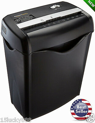 Cross Cut Paper Shredder Destroy Credit Card Heavy Duty Business Home NEW