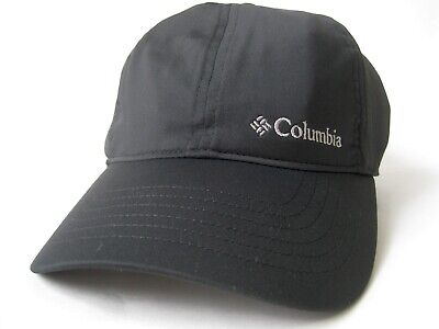 f36d2799730 COLUMBIA MENS COOLHEAD Ballcap White Black Outdoor Trail Stretch Cap UPF 50  Hat -  33.99